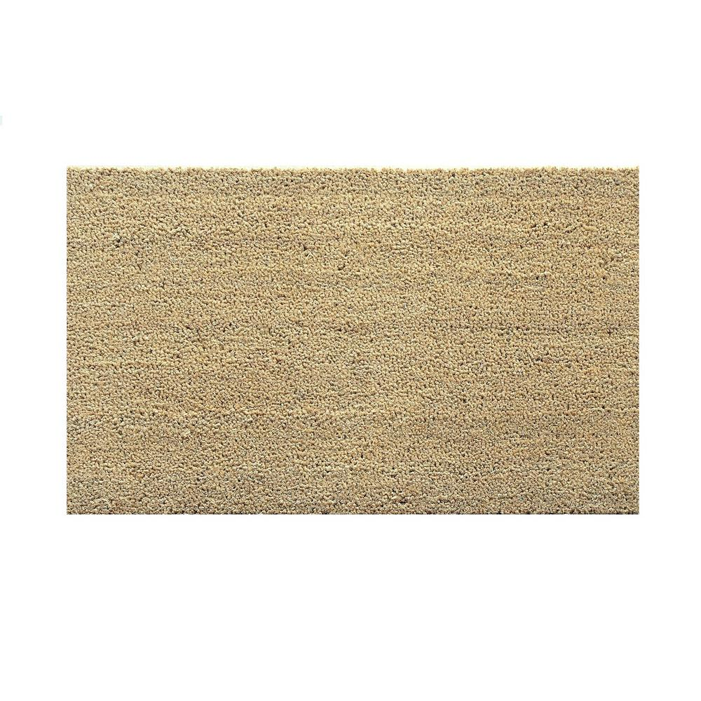 Natural 19 7 In X 31 5 In Door Mat Cc50x80na The Home