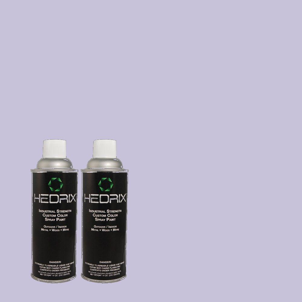 Hedrix 11 oz. Match of MQ4-31 Stardust Evening Semi-Gloss Custom Spray Paint (2-Pack)