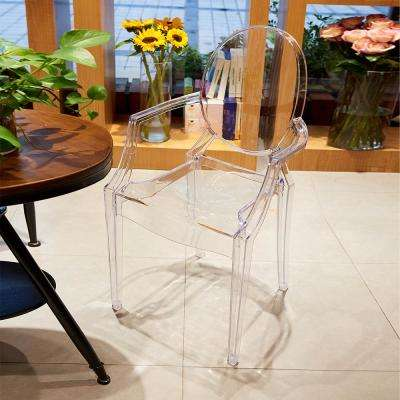 Tamik Clear Arm Chair (Set of 2)
