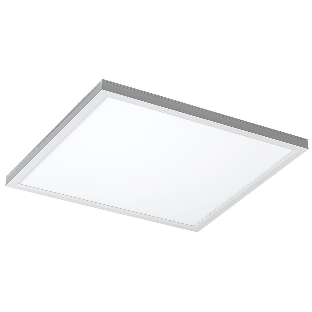 2 ft. x 2 ft. 64-Watt Equivalent Integrated LED White Flat Panel Troffer 4000K 4000 Lumens 40-Watts 100-277V (2-Pack)