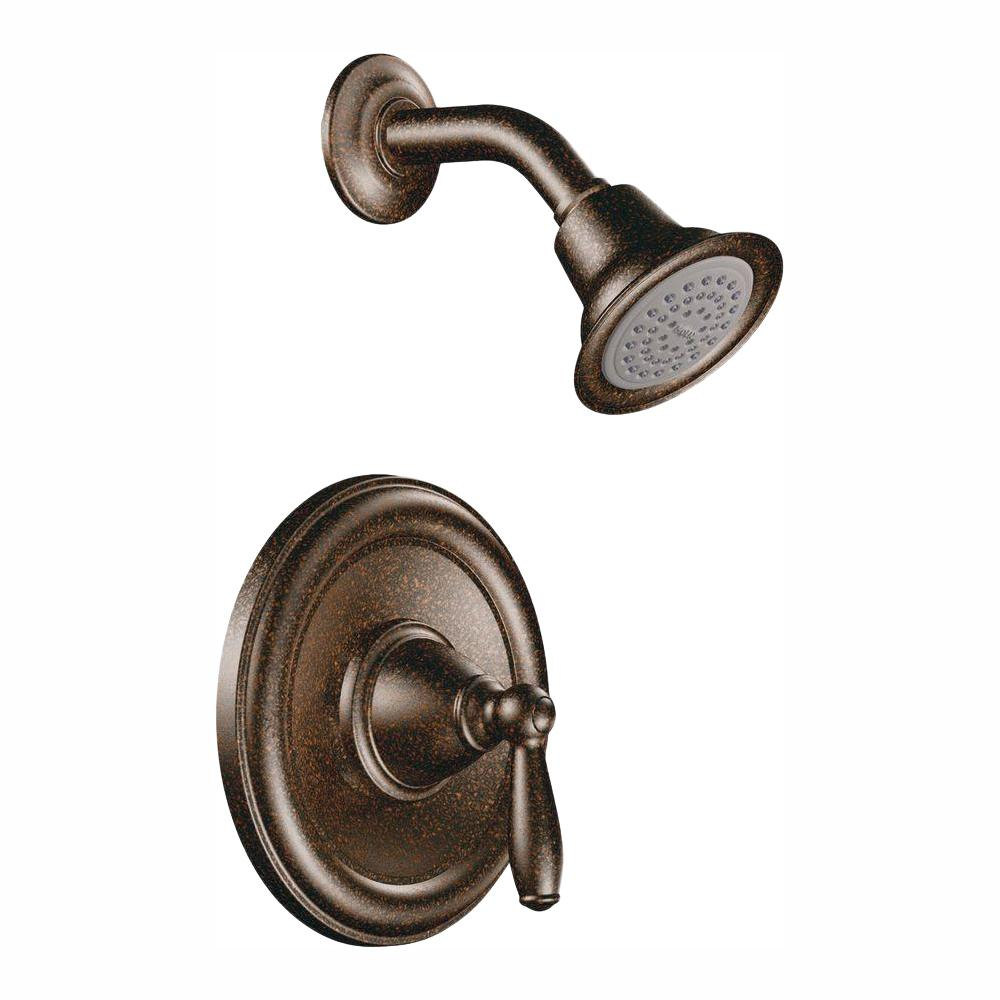 Brantford Single-Handle Posi-Temp Shower Only Trim Kit in Oil Rubbed Bronze (Valve Not Included)