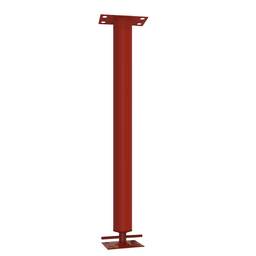 7 ft. 3 in. Adjustable Steel Building Support Column 3 in. O.D.