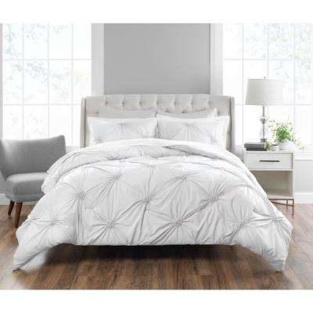 Clairette 3-Piece Technique King Comforter Set