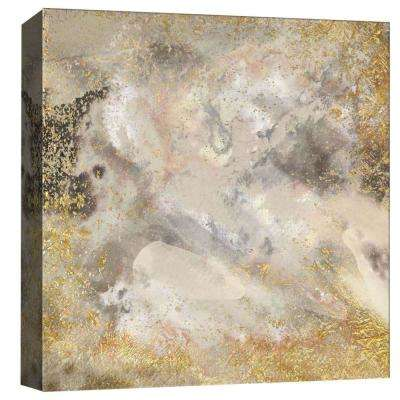 15 in. x 15 in. ''Touches In Gold II'' By PTM Images Printed Canvas Wall Art