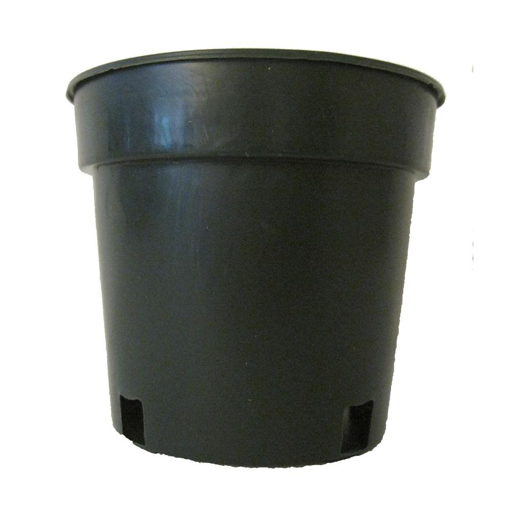Niu 4 in. Green Plastic Nursery Pot