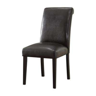 Gregory Espresso PU Side Chair