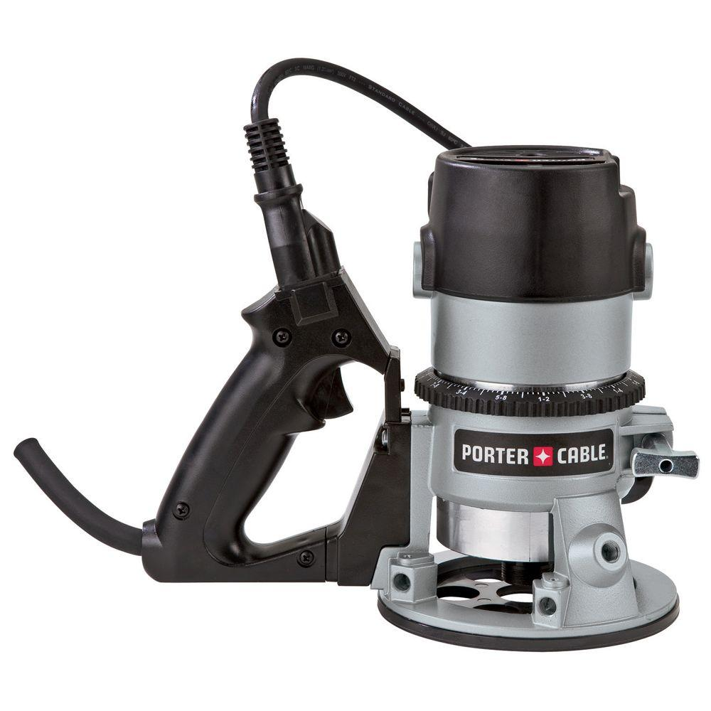 1-13/4 HP 27,500 RPM D-Handle Router