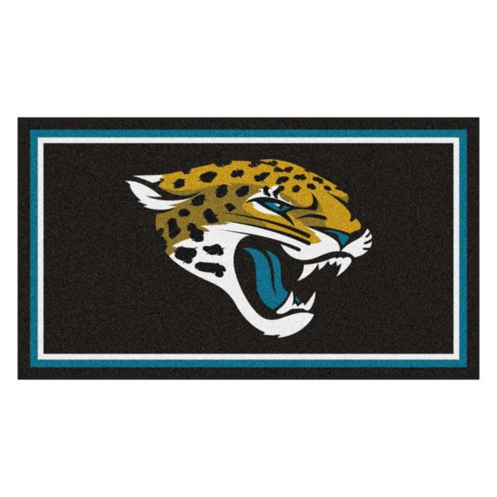 NFL - Jacksonville Jaguars 3 ft. x 5 ft. Ultra Plush Area Rug