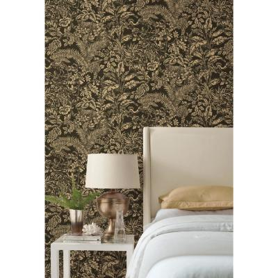 56 sq. ft. Outdoors in Botanical Sanctuary Wallpaper
