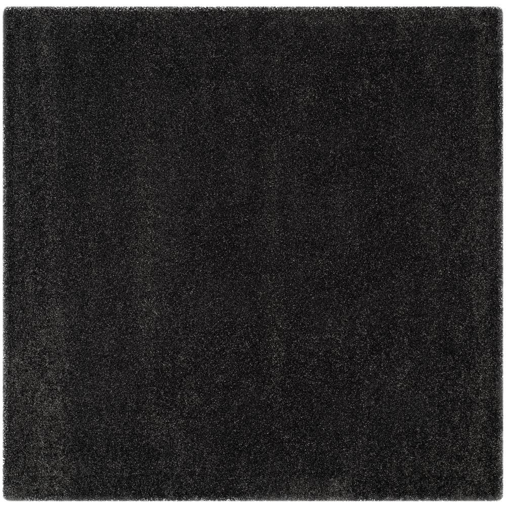 Safavieh Milan Shag Dark Gray 10 Ft X 10 Ft Square Area