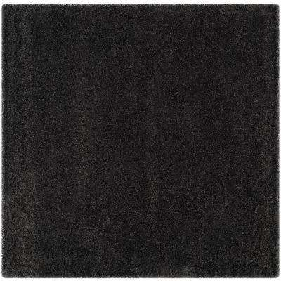 Square Black Area Rugs Rugs The Home Depot