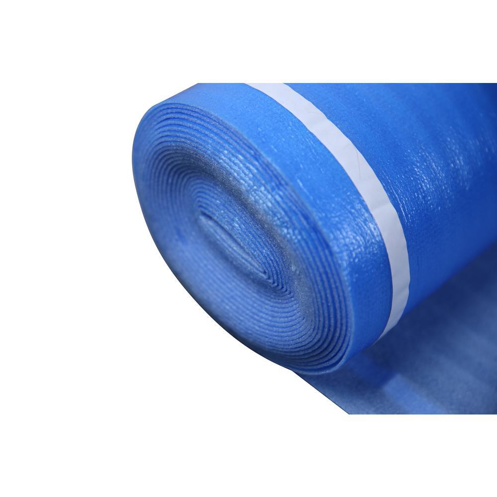 Dekorman 2mm Laminate Flooring Blue, Foam Underlayment For Laminate Flooring Home Depot