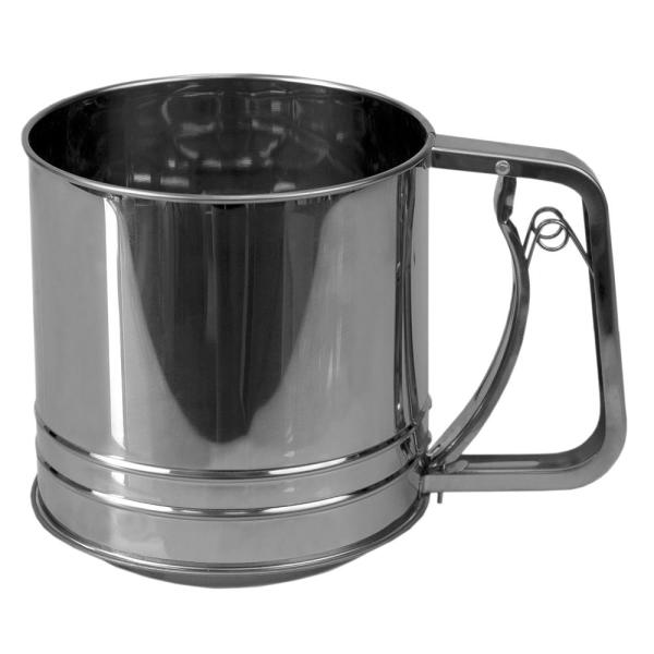 Large Stainless Steel Flour Sifter