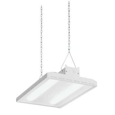 High bay integrated led lithonia lighting commercial lighting white led high bay light fixture mozeypictures Image collections
