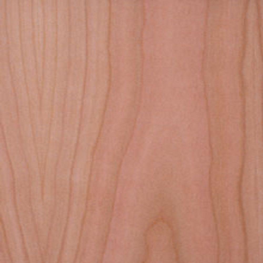 Edgemate 48 in. x 96 in. Cherry Wood Veneer with 10 mil Paper Backer