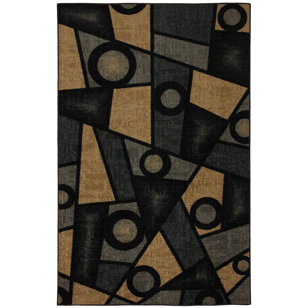 Mohawk Home Shattered Blue 1 ft. 8 in. x 2 ft. 10 in. Accent Rug-DISCONTINUED