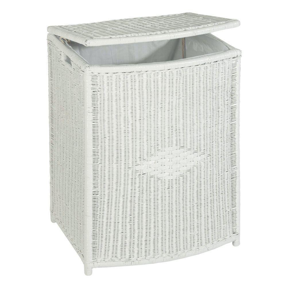 Home Decorators Collection Diamond-Weave Laundry Hamper
