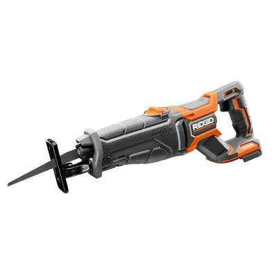 No tool blade change ridgid reciprocating saws saws the home 18 volt octane brushless reciprocating saw tool only greentooth Gallery