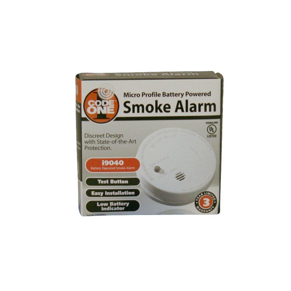 Kidde i9040EU  Micro Smoke Alarm 9V