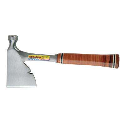 13 in. Carpenters Hatchet with Leather Grip