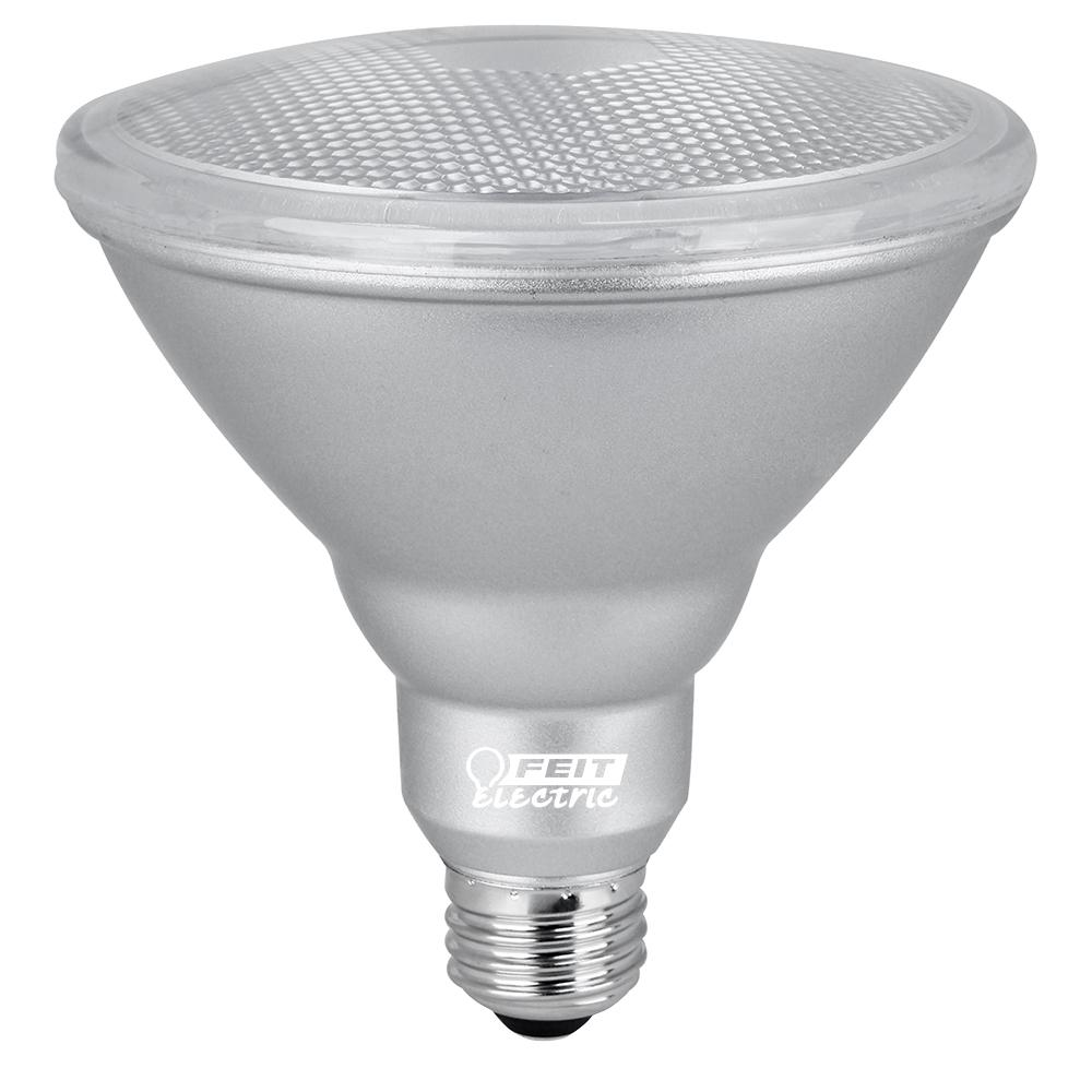 90W Equivalent Warm White (3000K) PAR38 Dimmable Hi CRI Spot Waterproof