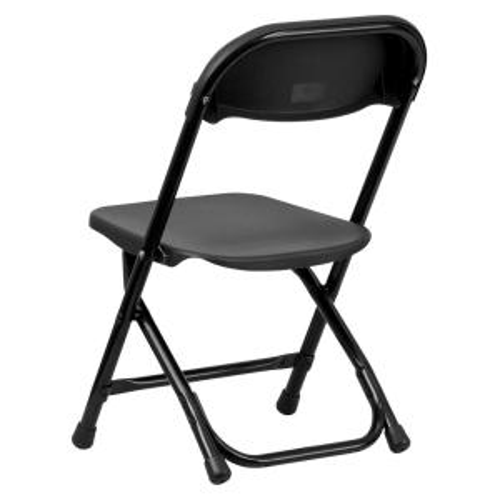 Awesome Flash Furniture Kids Black Plastic Folding Chair Ykidbk Creativecarmelina Interior Chair Design Creativecarmelinacom