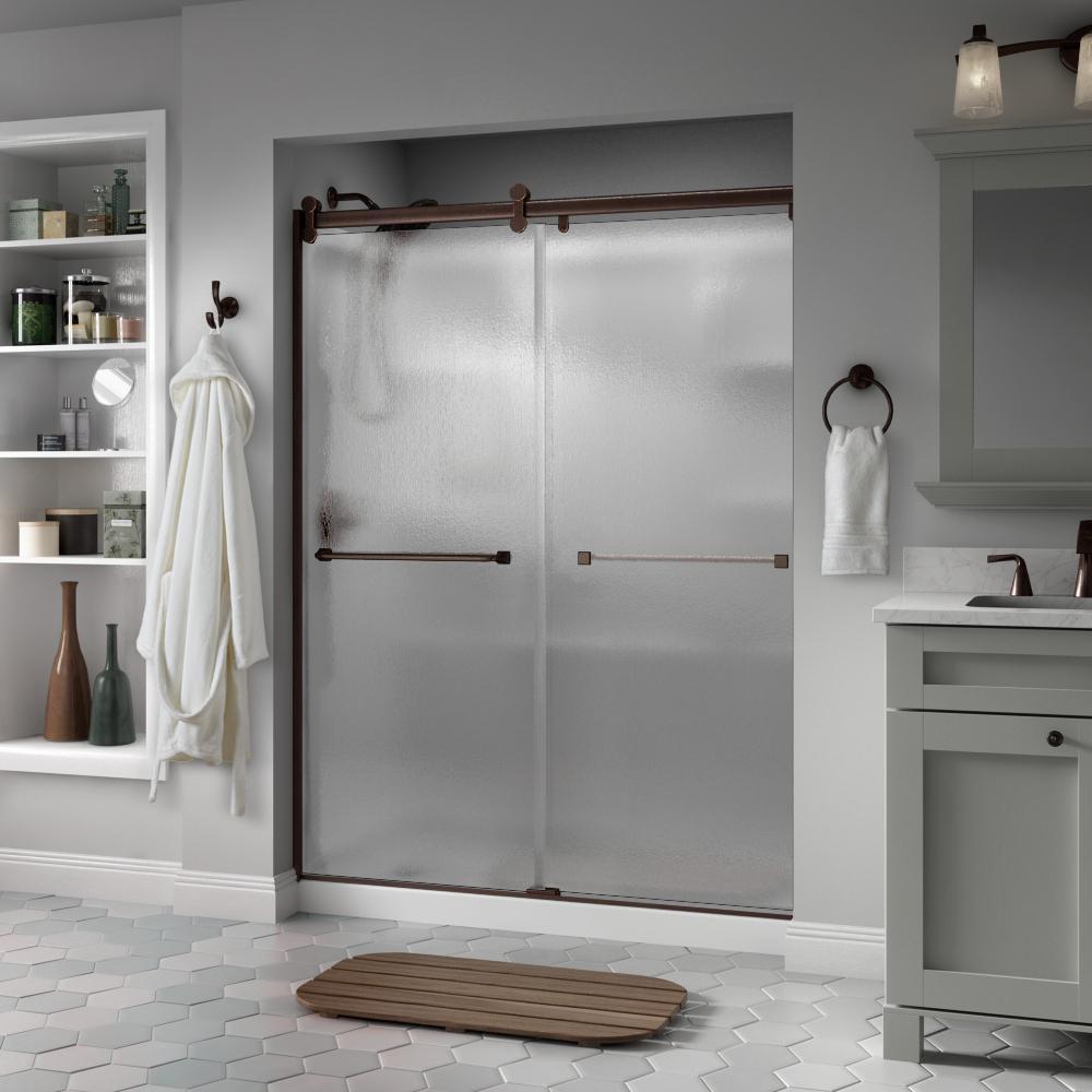 Simple Semi Frameless Contemporary Sliding Shower Door in HD - Best of 5 foot shower doors Plan