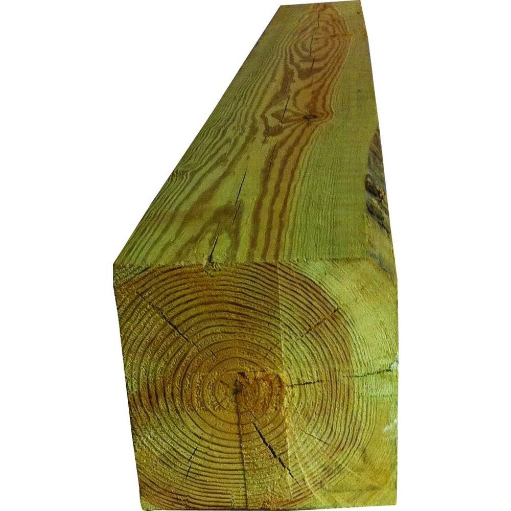 6 in. x 6 in. x 20 ft. Pressure-Treated Timber-tbd - The Home Depot