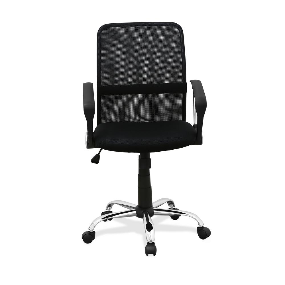 Furinno Hidup Black Low Back Office Chair
