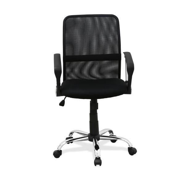 Furinno Hidup Black Low Back Office Chair WA-8078F-5