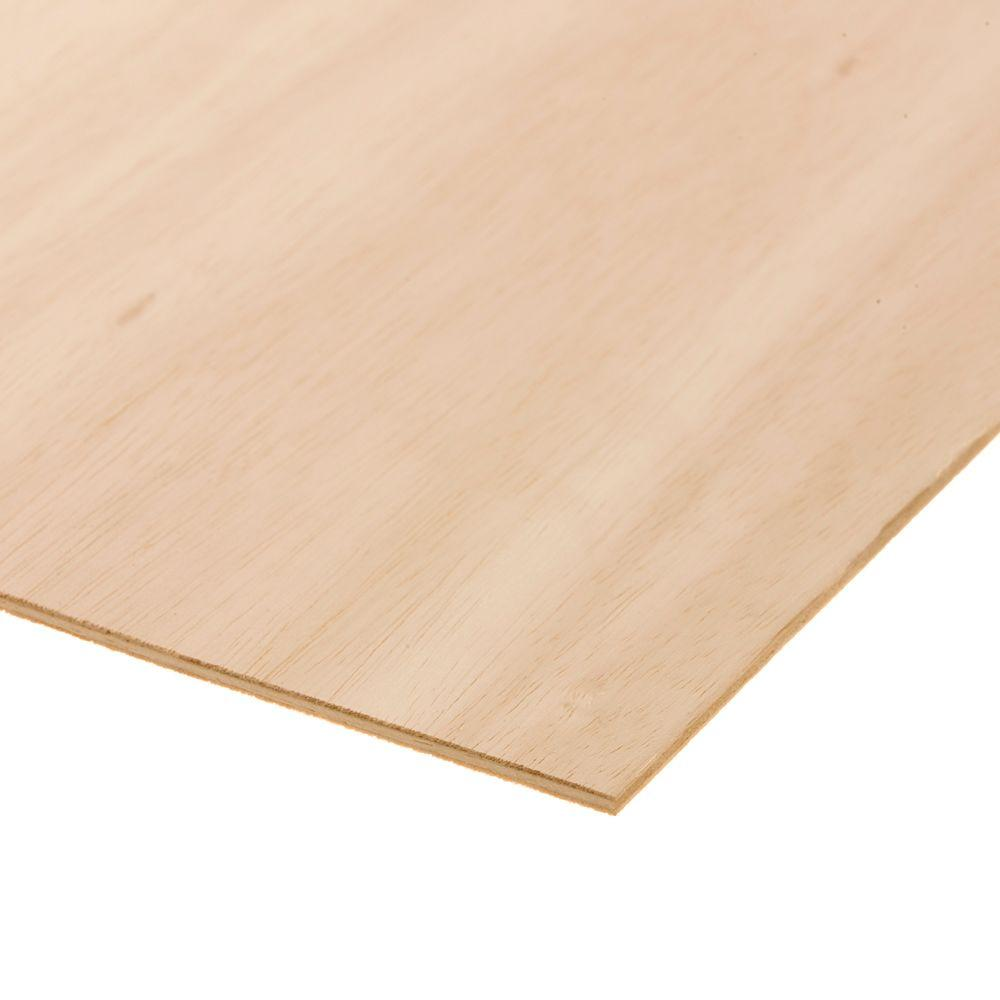 Sande Plywood Common 1 4 In X 2 Ft X 4 Ft Actual 0
