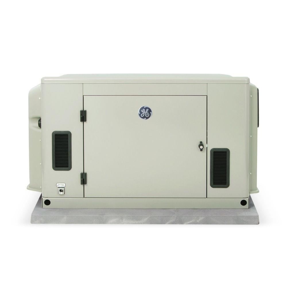 GE 20,000-Watt Standby Generator with Symphony II Whole House 200-AMP Transfer Switch-DISCONTINUED