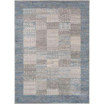 Fowler Bright Blue 2 ft. x 3 ft. Indoor Area Rug