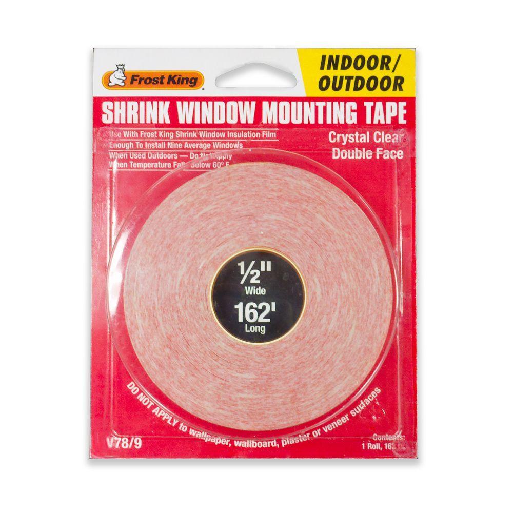 Frost King E/O 1/2 in. x 162 ft. Shrink Film Tape