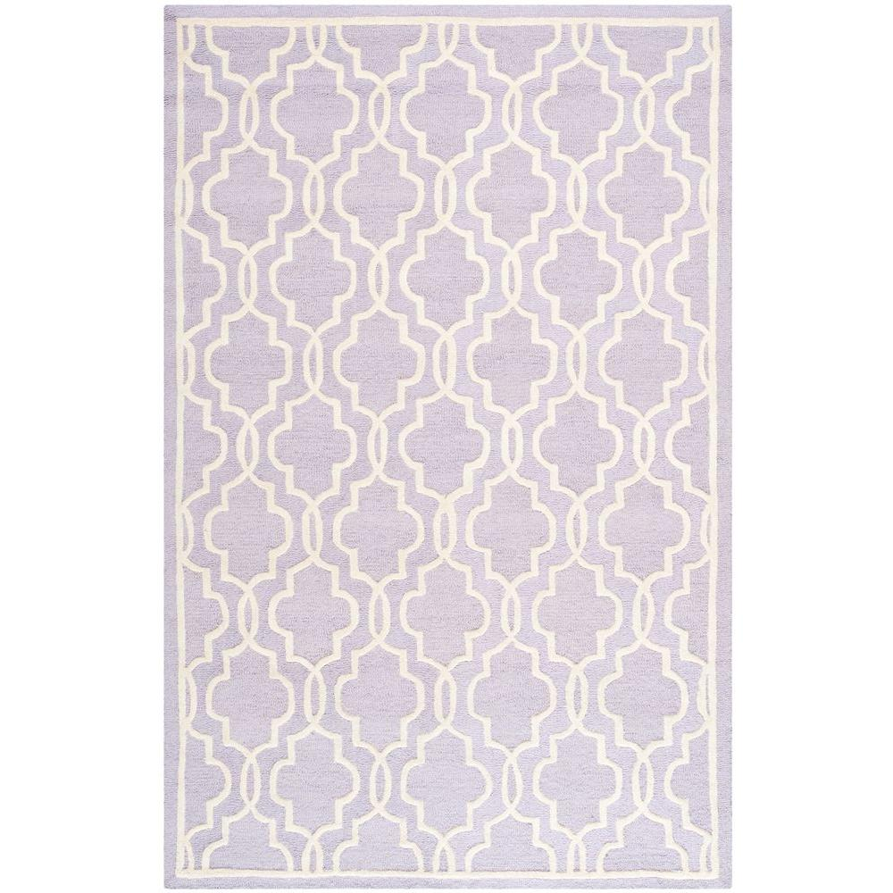 Lavender Rug: Safavieh Cambridge Lavender/Ivory 6 Ft. X 9 Ft. Area Rug
