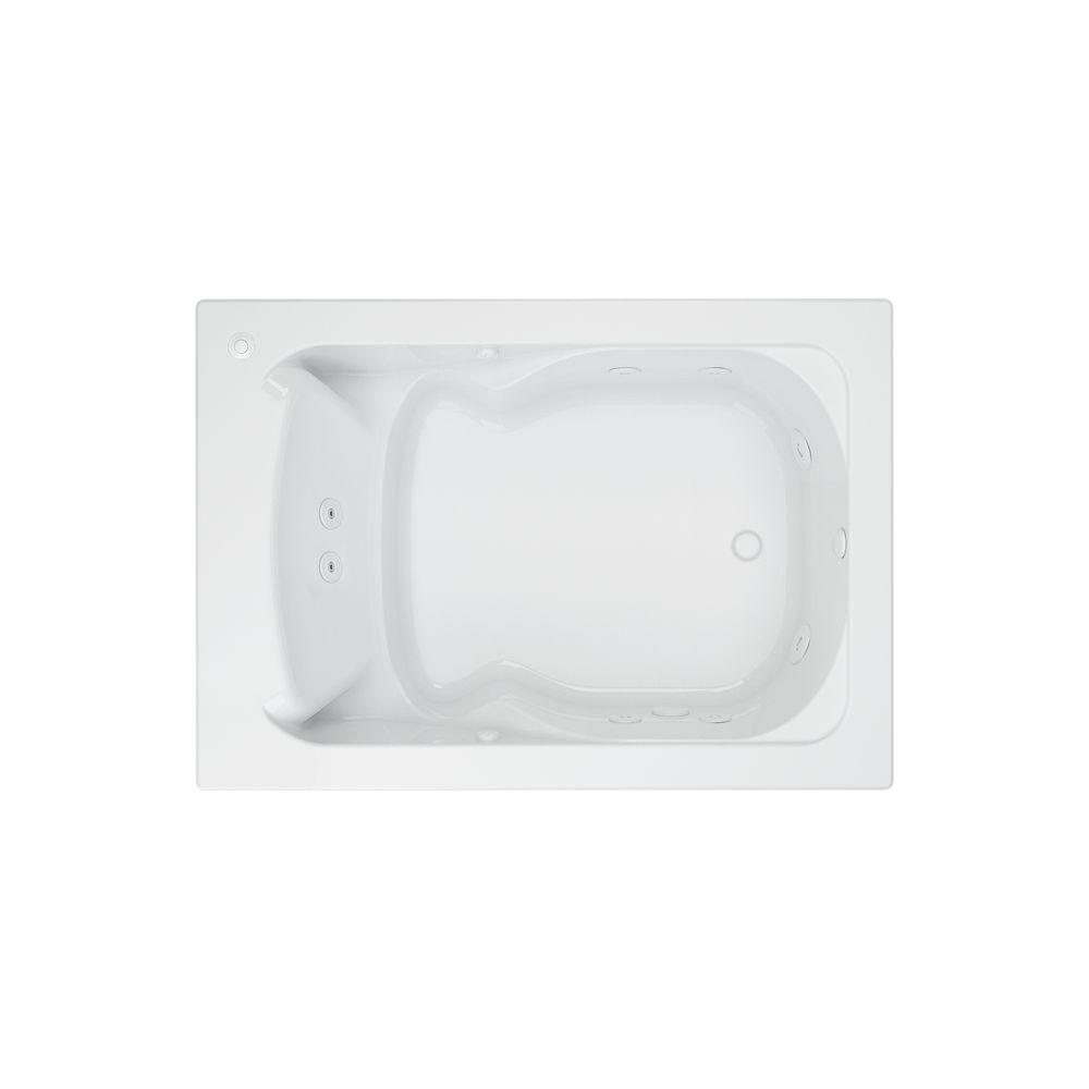Evolution 60 in. x 36 in. Whirlpool Tub with EverClean Reversible