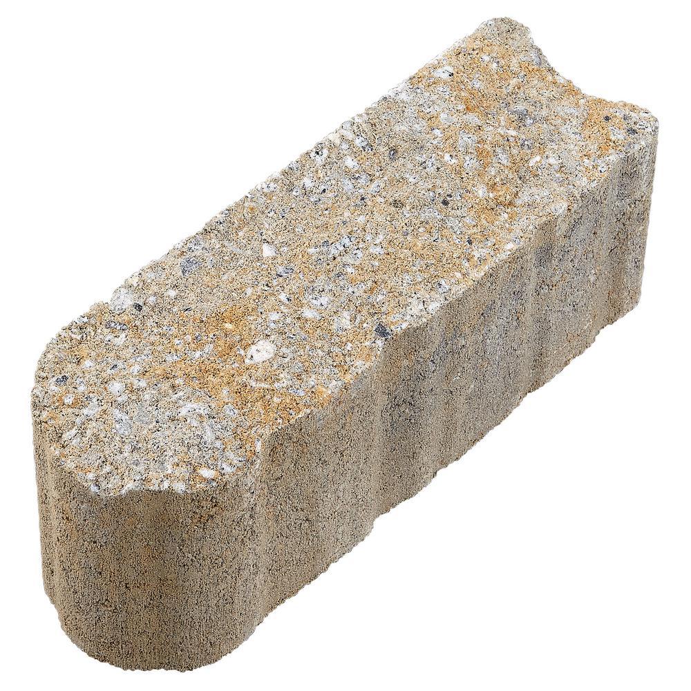 Flat Stone Edging: Pavestone SplitRock 10.5 In. X 3.5 In. X 4 In. Yukon