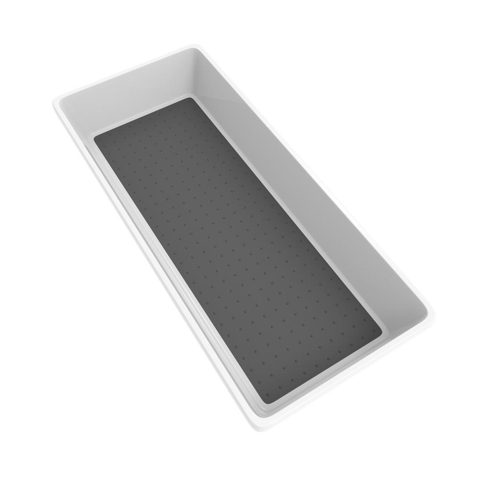 White Plastic Drawer Organizer Tray