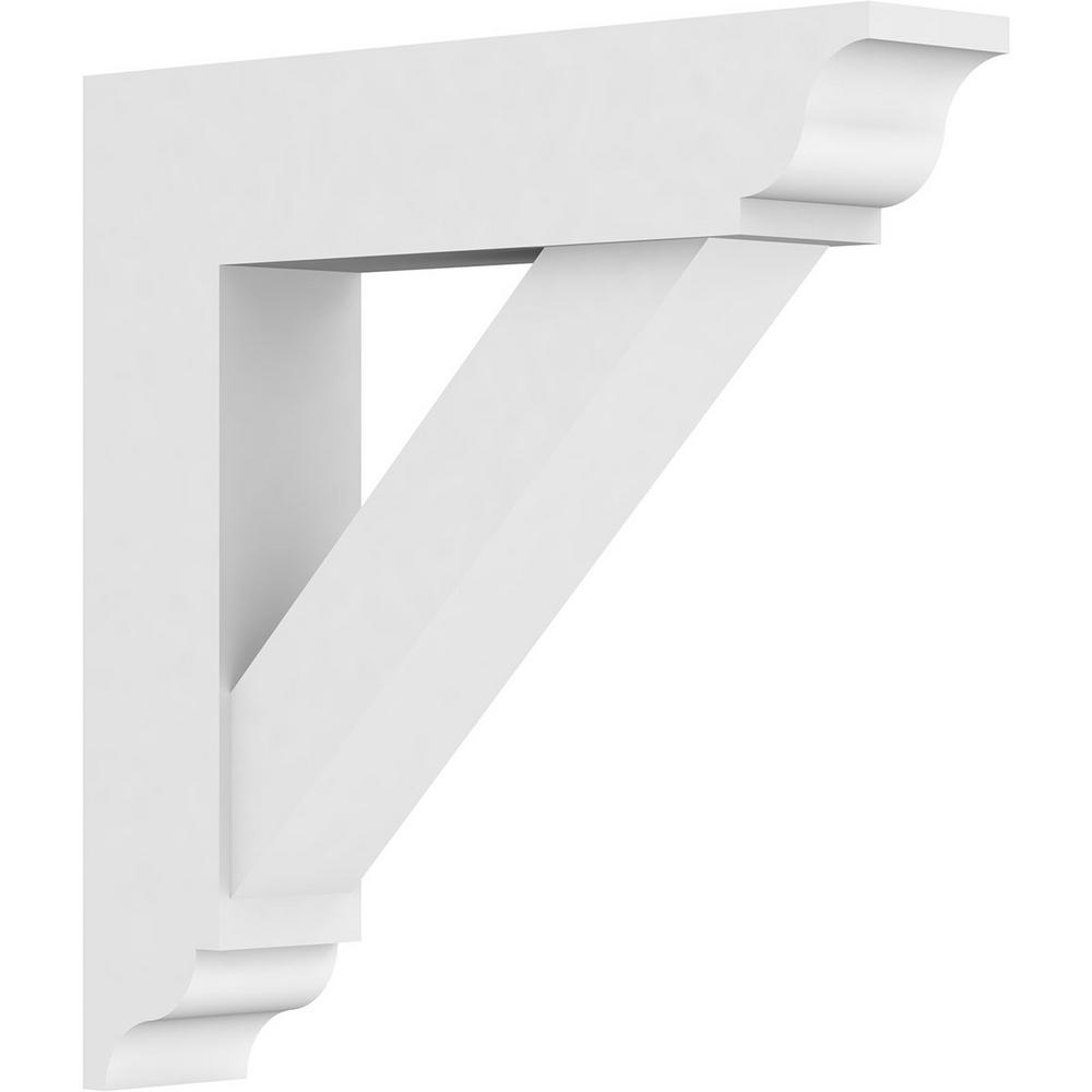 3 in. x 18 in. x 18 in. Traditional Bracket with