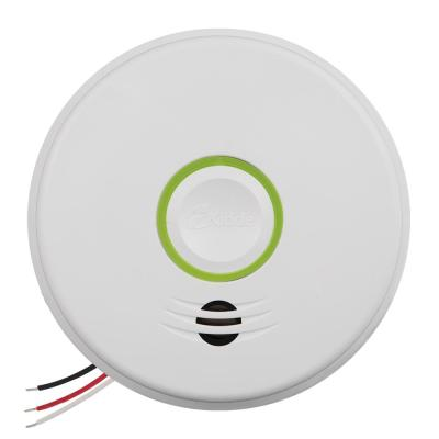 Universal Security Instruments Ac Hardwired Iophic Smoke Fire Carbon Monoxide And Natural Gas Alarm With Battery Backup Mdscn111 The Home Depot
