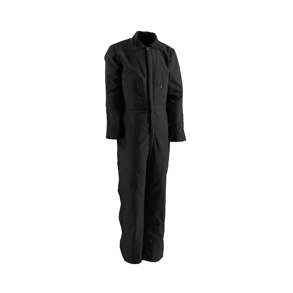 Berne Men S Medium Short Black Polyester And Cotton Deluxe