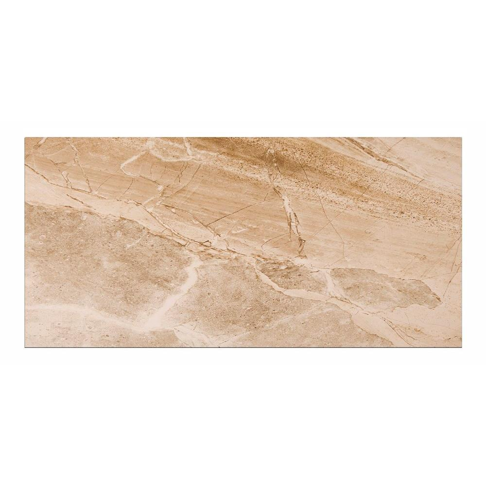 Denver Sand 12 in. x 24 in. Porcelain Floor and Wall