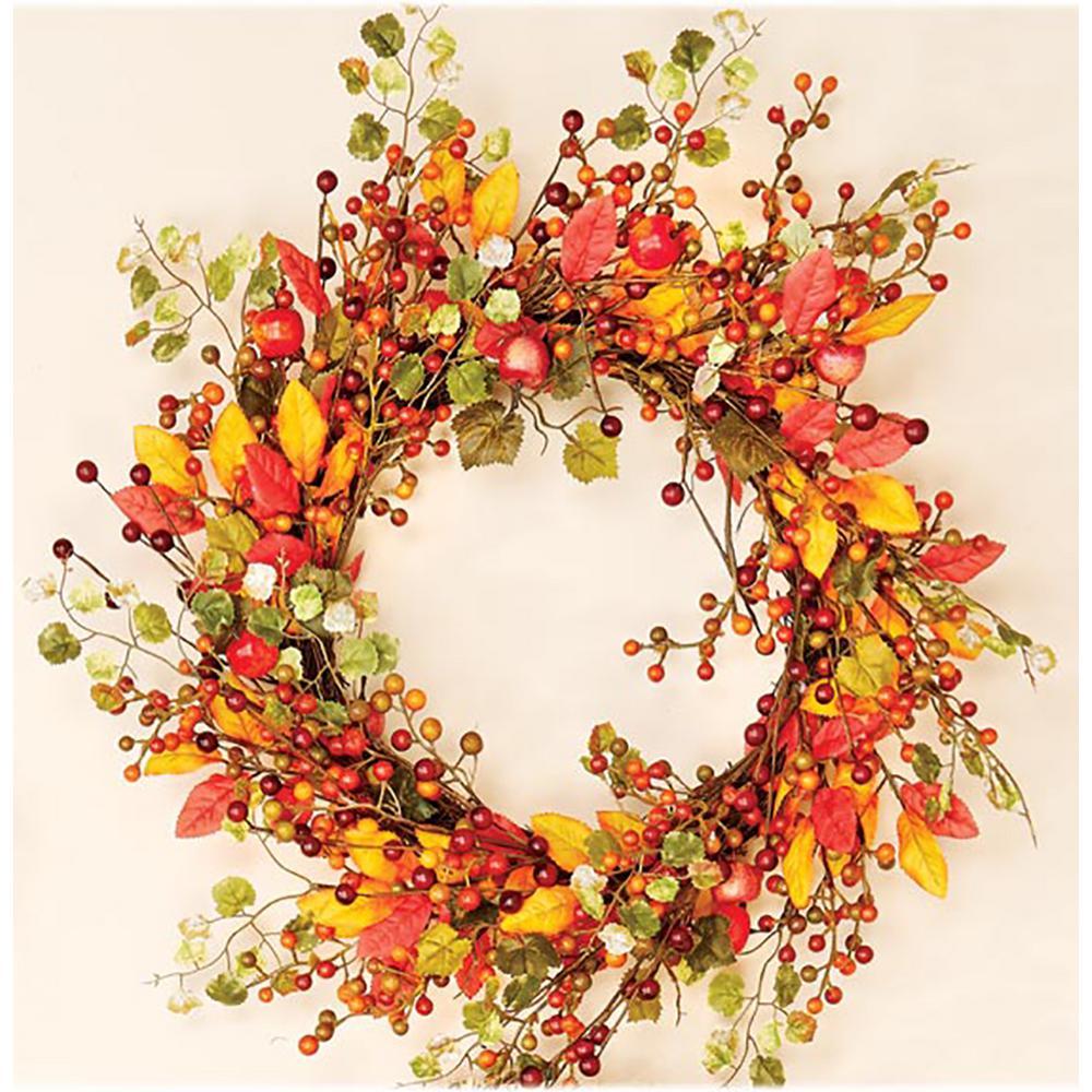 18 in. Fall Berry Wreath