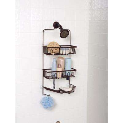 Family Size Shower Caddy in Bronze