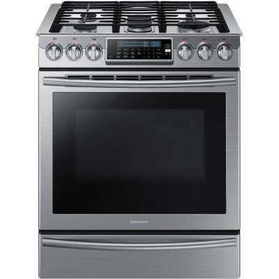 30 In 5 8 Cu Ft Slide Gas Range With Self