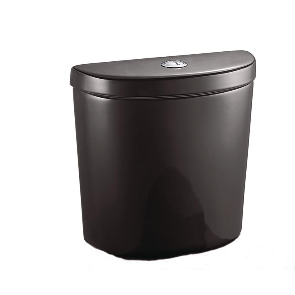 1.1 GPF/1.6 GPF Dual Flush Toilet Tank Only for Concealed Trapway