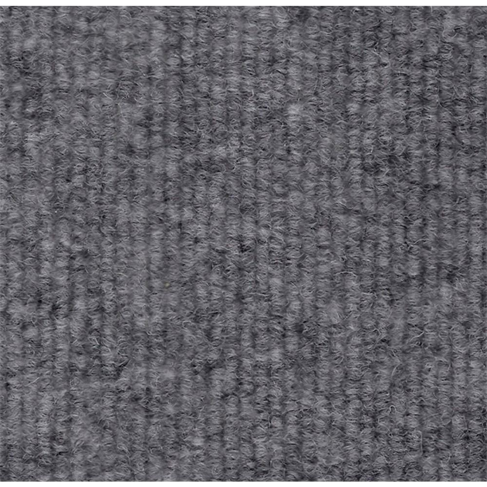 Durasquares Platinum Single Rib 18 in. x 18 in. Carpet Tile (12 Tiles/Case)