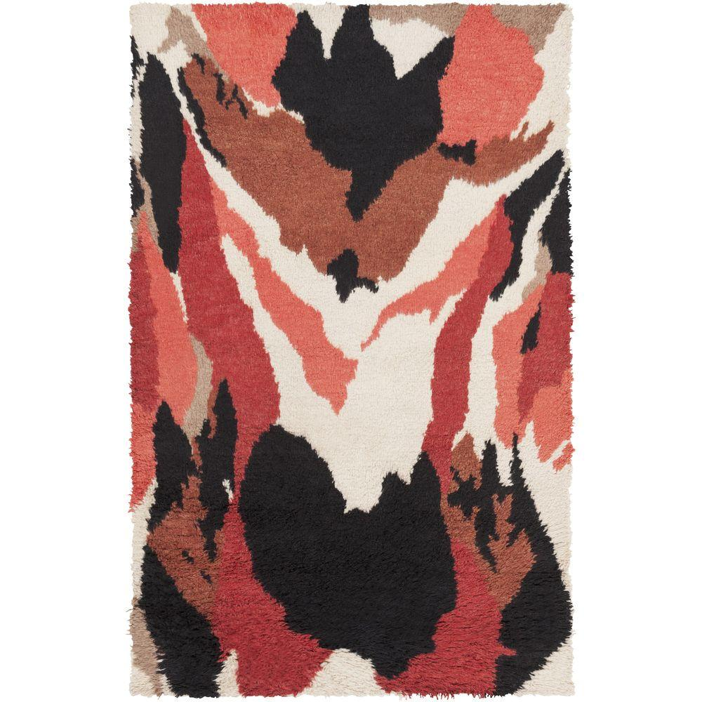 Surya Peter Som Pink 2 ft. x 3 ft. Accent Rug