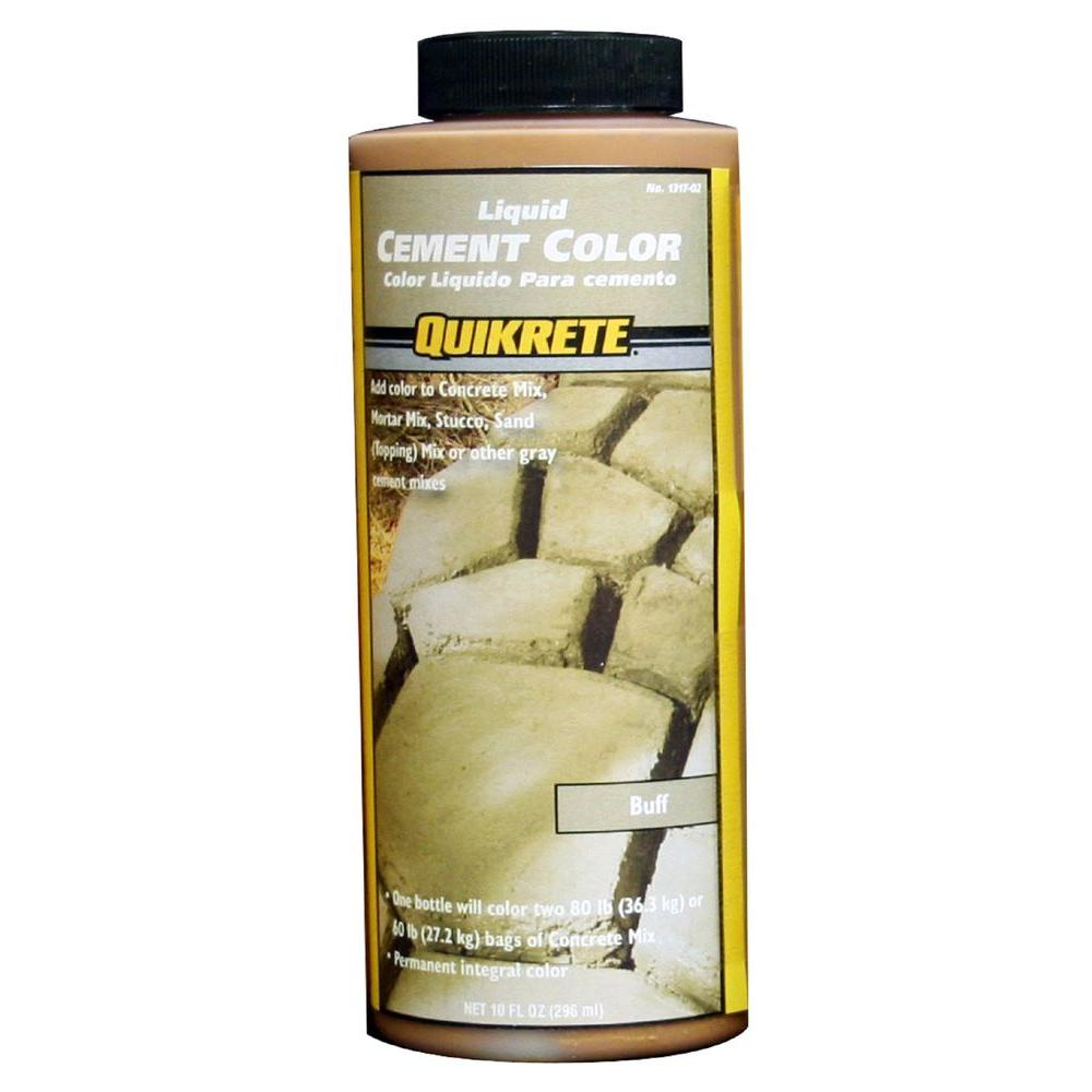 Quikrete 10 Oz Liquid Cement Color Buff
