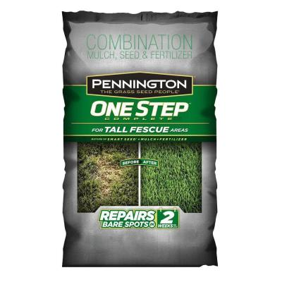 8.3 lb. One Step Complete for Tall Fescue with Smart Seed, Mulch, Fertilizer Mix